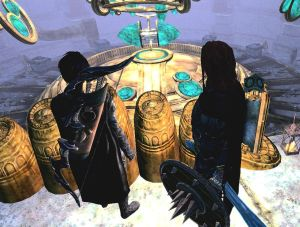 Chapter 10 - Selene and Brynjolf in Tower Mzark