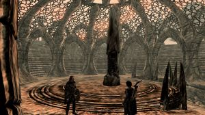 Chapter 19 - Selene and Brynjolf at Miraak's Temple 1
