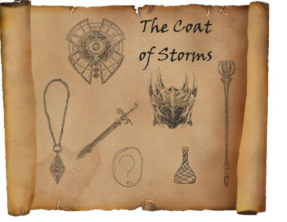 Chapter 15 - Coat of Storms Sketches