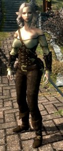 Kaaley with Refined Leather Armor