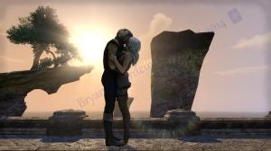 ©2014 Bryan A. Schardein. http://chesscoach.deviantart.com/art/Betath-and-Kaawen-Vulkhel-Guard-First-Kiss-459641103