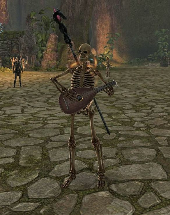 Skeleton Lute