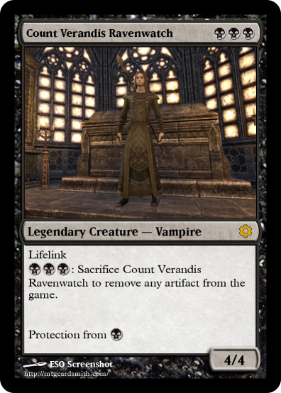 Count Verandis Ravenwatch