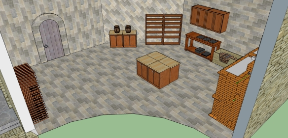 1st Floor Furnished - Kitchen