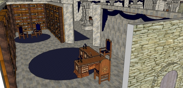 1st Floor Furnished - Library 2