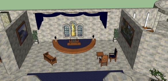 1st Floor Furnished - Shrine to Dibella