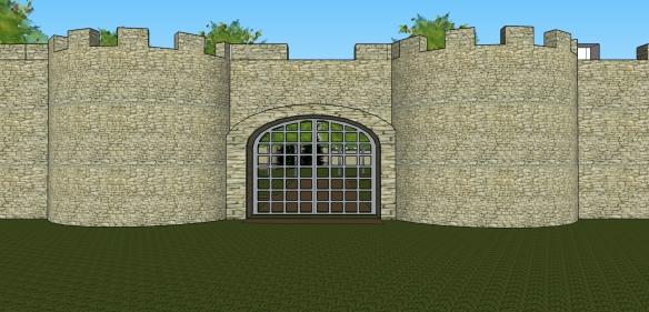 Grounds Composite Front Gate