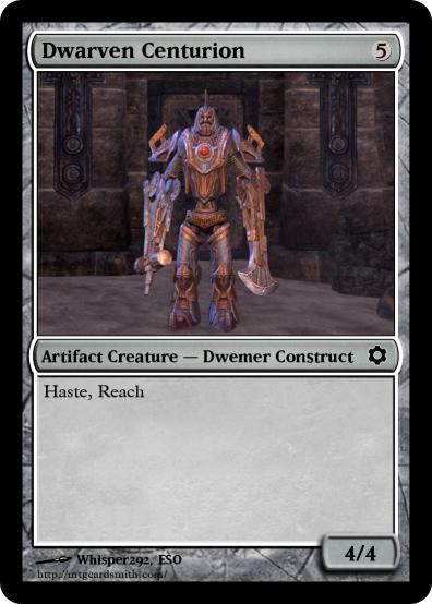 Dwarven Centurionm NEW