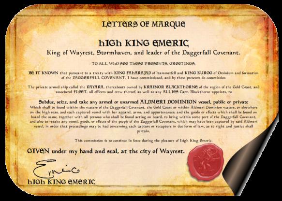 Letters of Marque - Krainor